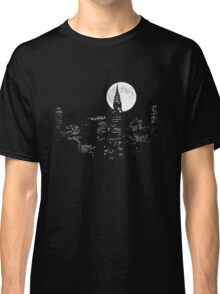 New York By Night Classic T-Shirt