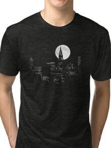 New York By Night Tri-blend T-Shirt