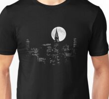 New York By Night Unisex T-Shirt