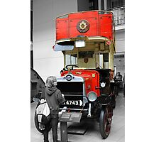 Old London Bus Photographic Print