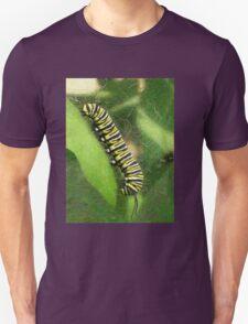 Monarch Caterpillar - Sunset Relaxing Unisex T-Shirt