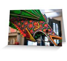 Fish Kite Greeting Card