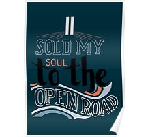 I Sold My Soul Poster