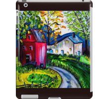 September Red Barn Landscape iPad Case/Skin