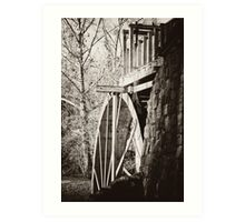 the Old Mill of Guilford Art Print