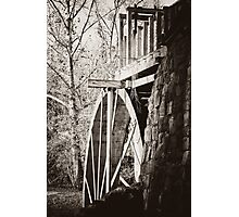 the Old Mill of Guilford Photographic Print