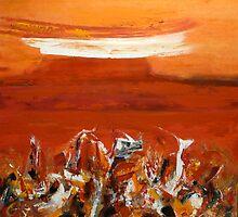 Red Earth-Western Australia  by Carollyn Rhodes-Thompson