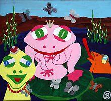 Carneval Frog by Oehmig Birgit