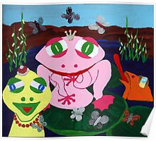 Carneval Frog Poster