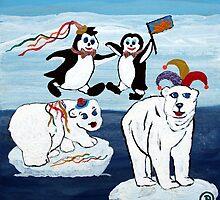 Carneval i South Pole by Oehmig Birgit