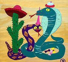 Carneval in the desert by Oehmig Birgit
