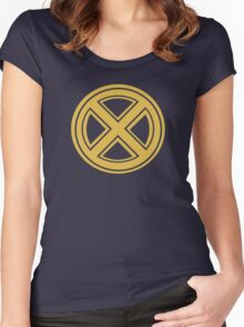X men Aromor Style  Women's Fitted Scoop T-Shirt