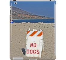 Beach Sign iPad Case/Skin