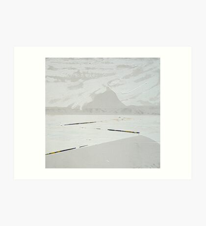 Inland Sea-North Western Australia Art Print