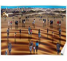 Modern pilgrimage Poster