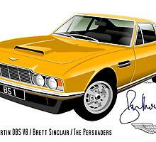 Aston Martin DBS from The Persuaders! by car2oonz
