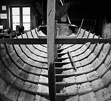 Building a boat by VisualNorway