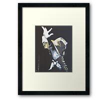 Tom Waits Burmashave 1979 Framed Print