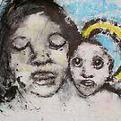 Faces, Bernard Lacoque-46  by ArtLacoque