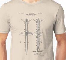 Rocket Patent 1956 Unisex T-Shirt
