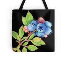 Wild Maine Blueberries Tote Bag