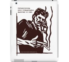 Mobile Phone Poetry iPad Case/Skin