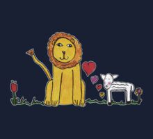 Tane's Lion and Lamb One Piece - Long Sleeve