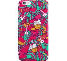 Candy shop pattern iPhone Case/Skin