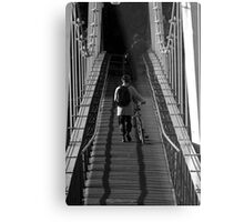 the lonely commuter Metal Print