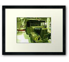 Field Ambulance Framed Print
