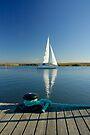 MVP73 Sailing boat at Zingst, Germany. by David A. L. Davies