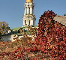 Kiev-Pechersk Lavra by Maryna Gumenyuk