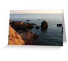 Aegean sea Greeting Card