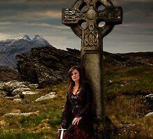 Branwen  (Celtic Cross) by Raymond Kerr