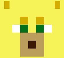 Minecraft Ocelot face by desuumbreon