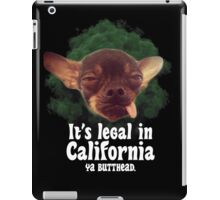 High Beanz - White  iPad Case/Skin