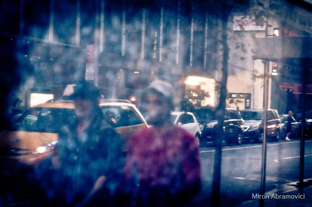 City walk by Miron Abramovici