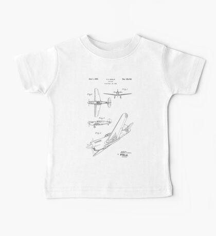 Airplane Patent 1942 Baby Tee