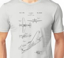 Airplane Patent 1942 Unisex T-Shirt