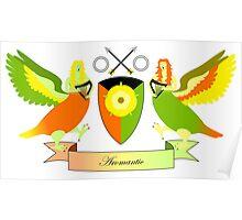 Aromantic Crest Poster