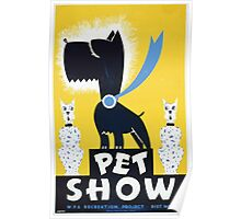 WPA United States Government Work Project Administration Poster 0260 Pet Show Poster