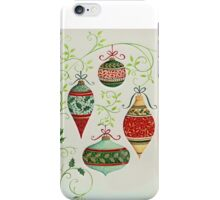 Decorated ornaments iPhone Case/Skin