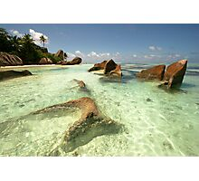 Seychelles La Digue Photographic Print