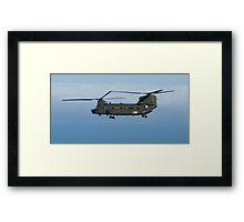 Chinook in flight Framed Print