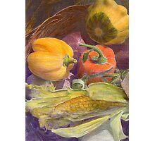 Autumn Bounty Photographic Print