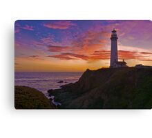 Sunset at Pigeon Point Canvas Print