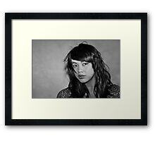 """ A Child in the ..... "" Framed Print"