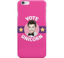 Kurt Hummel Vote Unicorn iPhone Case/Skin
