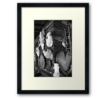 Burl Art - Kirby, OR Framed Print