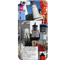 Oregon Umpqua River Lighthouse Collection iPhone Case/Skin